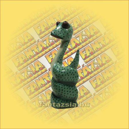 Kígyó Figura Fából, festett