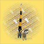 Macska Gyűrűtartó-Hosszú Farkú Trópusi Fából 30cm A