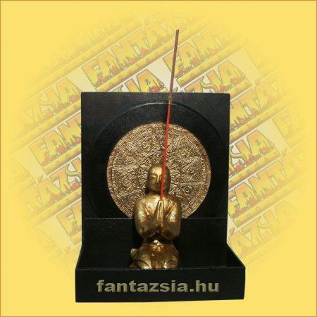 Füstölőtartó Buddha Mandala háttérrel F
