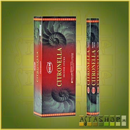 HEM Citronella/HEM Citronella illatú indiai füstölő