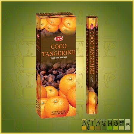 HEM Coco Tangerine/HEM Kókusz Mandarin illatú indiai füstölő