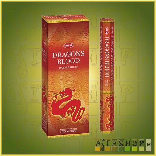 HEM Dragon Blood/HEM Sárkányvér indiai füstölő