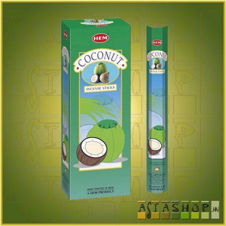 HEM Coconut/HEM Kókusz illatú indiai füstölő