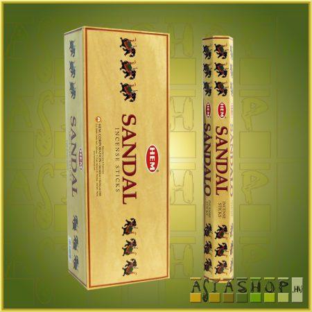 HEM Sandalo/HEM Fehér Szantálfa illatú indiai füstölő