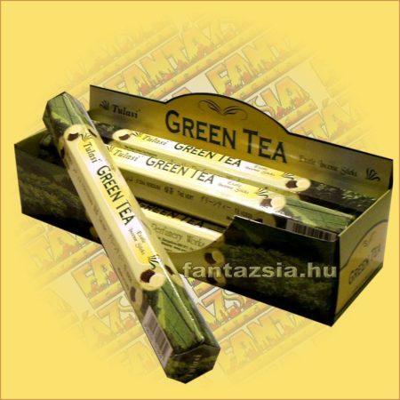 Tulasi Zöld Tea illatú füstölő/Tulasi Green Tea