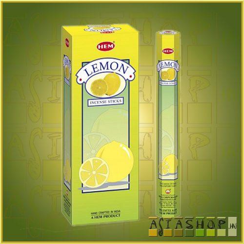 HEM Lemon/HEM Citrom illatú indiai füstölő