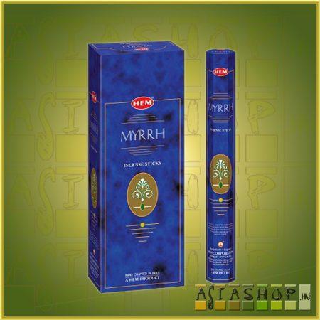 HEM Mirrh/HEM Mirha illatú indiai füstölő