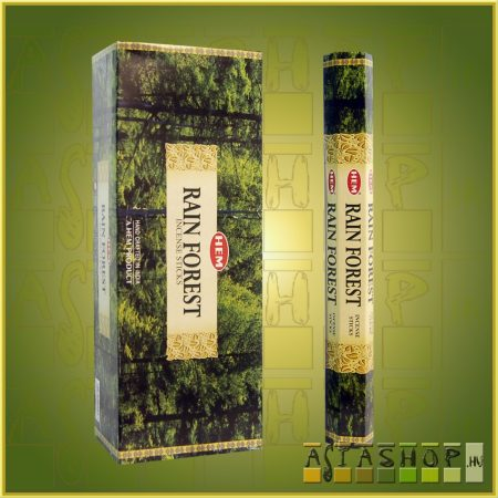 HEM Rain Forest/HEM Esőerdő illatú indiai füstölő