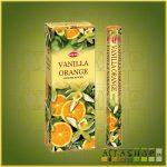HEM Vanilla Orange/HEM Vanília Narancs illatú indiai füstölő