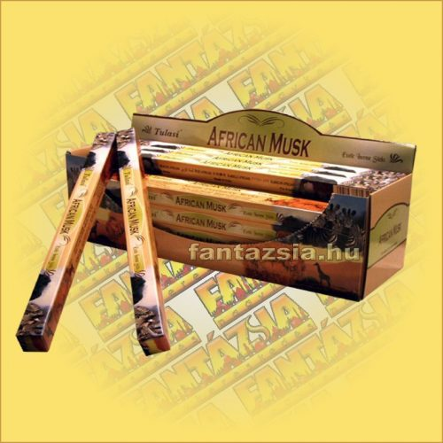 Afrikai Pézsma Indiai Füstölő / Tulasi African Musk