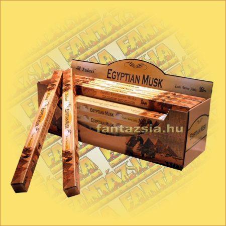 Egyiptomi Pézsma Indiai Füstölő / Tulasi Egyptian Musk