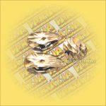 Szivárványkristály (Feng Shui) Levél ,csillag csiszolás 50mm