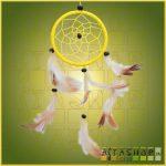 Álomcsapda (álomfogó) sárga 9cm