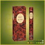 HEM Red Rose/HEM Vörös Rózsa illatú indiai füstölő