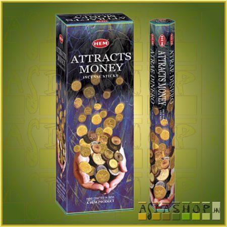 HEM Attracts Money/HEM Pénzvonzó indiai füstölő