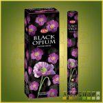 HEM Black Opium/HEM Fekete Ópium illatú indiai füstölő