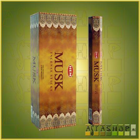 HEM Musk/HEM Pézsma illatú indiai füstölő
