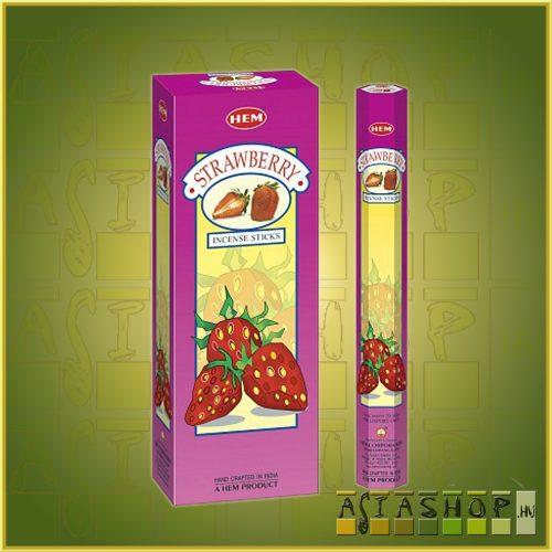 HEM Strawberry/HEM Eper illatú indiai füstölő