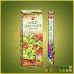 HEM Wild Orchid/HEM Vad Orchidea illatú indiai füstölő