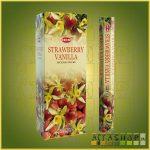HEM Vanilla Strawberry/HEM Vanília Eper illatú indiai füstölő