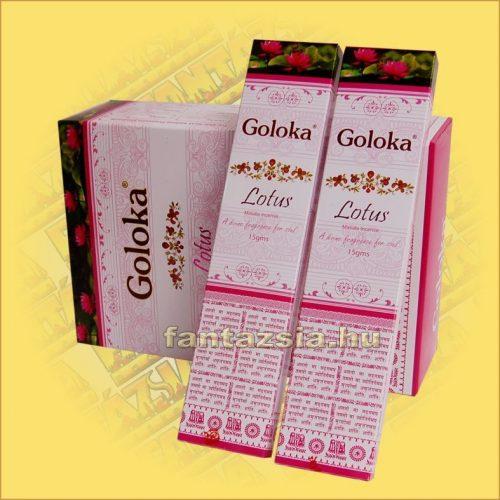 Lótusz masala füstölő / Goloka Lotus