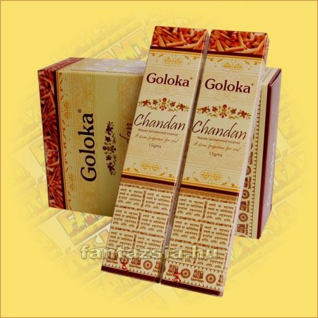 Szantál masala füstölő / Goloka Chandan