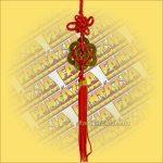 Feng Shui Szerencsehozó Pénzfüzér Hatszög, kicsi