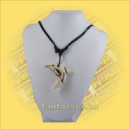 Nyaklánc Állítható - Halcsont Delfin medállal