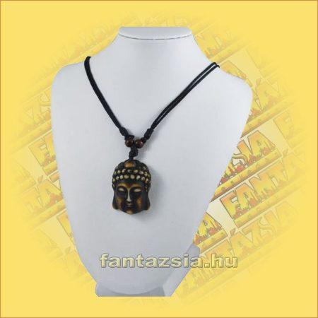 Nyaklánc Állítható - Halcsont Barna Buddha medállal