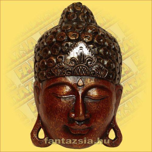 Buddha Arc Maszk bordó 40cm