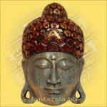Buddha Arc Maszk kék 40cm