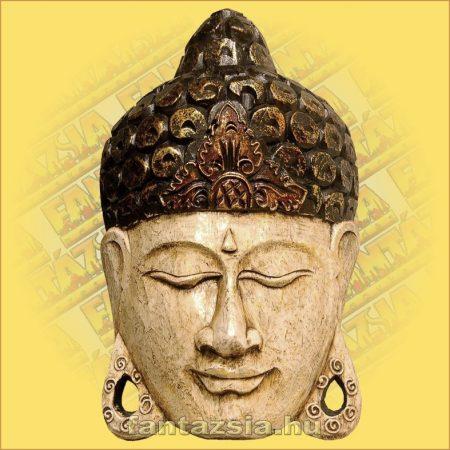 Buddha Arc Maszk fehér 30cm