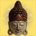 Buddha Arc Maszk kék 50cm