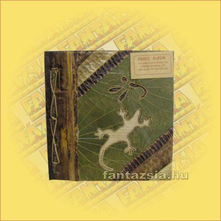 Fotóalbum Trópusi Növényekből Merített Papír Oldalakkal (20 db-os)