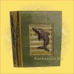 Fotóalbum Trópusi Növényekből Merített Papír Oldalakkal (40 db-os)