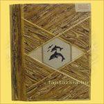 Fotóalbum Trópusi Növényekből Merített Papír Oldalakkal (80 db-os)