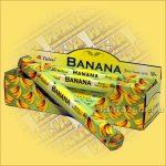 Tulasi Banán illatú füstölő/Tulasi Banana