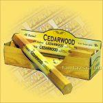 Tulasi Cédrusfa illatú füstölő/Tulasi Cedarwood