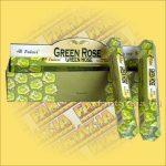 Tulasi Zöld Rózsa illatú füstölő/Tulasi Green Rose