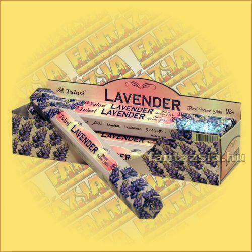 Tulasi Levendula illatú füstölő/Tulasi Lavender