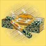 Tulasi Gyöngyvirág illatú füstölő/Tulasi Lily of the Valley