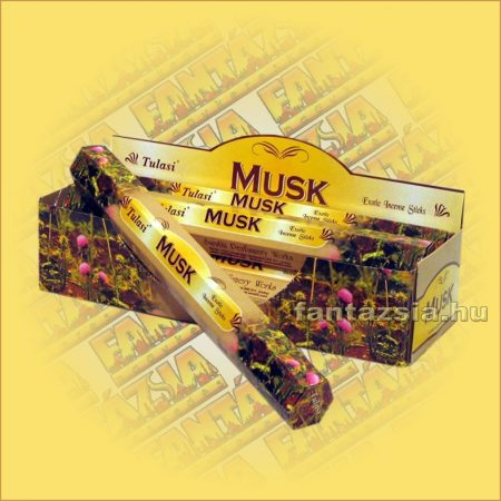 Tulasi Pézsma illatú füstölő/Tulasi Musk