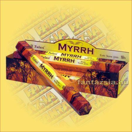 Tulasi Mirha illatú füstölő/Tulasi Mirrh