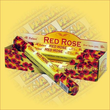 Tulasi Vörös rózsa illatú füstölő/Tulasi Red Rose
