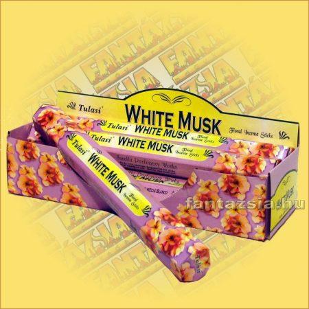 Tulasi Fehér pézsma illatú füstölő/Tulasi White Musk