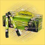 Citromfű-Szúnyogriasztó Indiai Füstölő / Tulasi Citronella