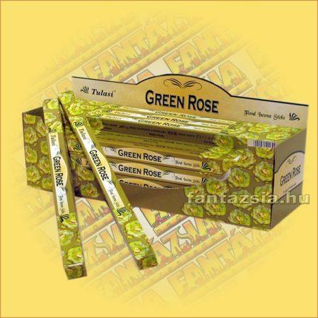 Zöld Rózsa Indiai Füstölő / Tulasi Green Rose