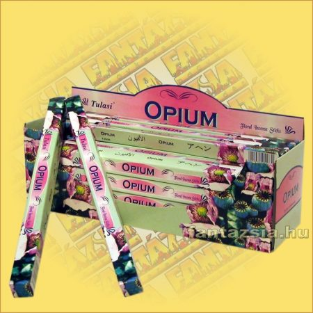 Ópium Indiai Füstölő / Tulasi Opium