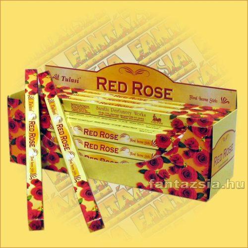 Vörös Rózsa Indiai Füstölő / Tulasi Red Rose
