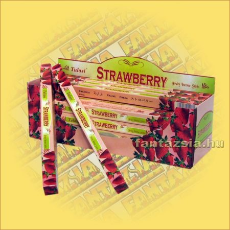 Eper Indiai Füstölő / Tulasi Strawberry